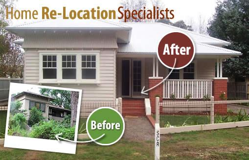 House relocation Melbourne Victoria NSW