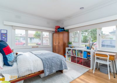 Generous light filled bedroom