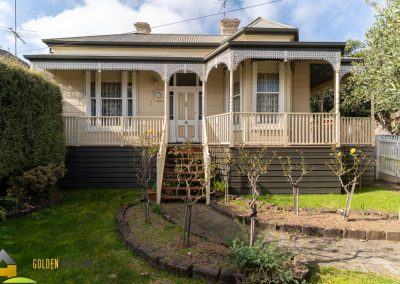 Exterior photo of the Bayview, a house for relocation in Victoria. A beautiful Victorian era home