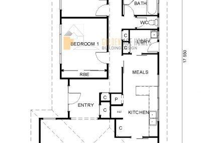 Floor plan of The Norwood
